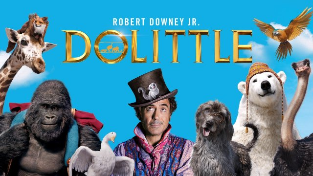 Robert Downey Jr is Dolittle. #DolittleMovie now playing!