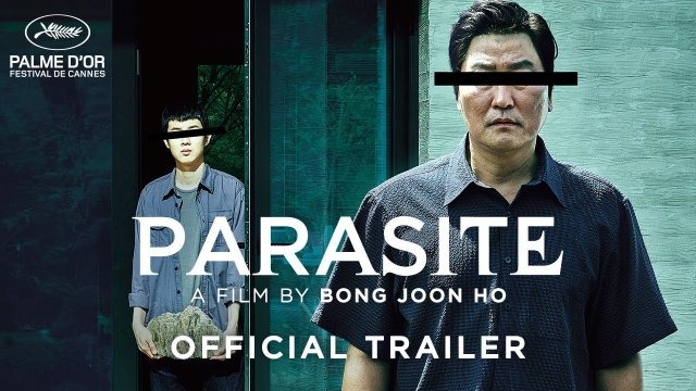 Parasite is the best reviewed film of the year. Don't miss Bong Joon Ho's latest masterpiece (2/14)