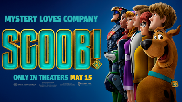 Mystery loves company. Watch SCOOB! on May 15